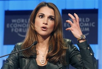Queen Rania Al Abdulla...