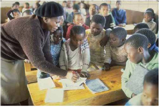 The type of Education System which was there in South Africa before 1994