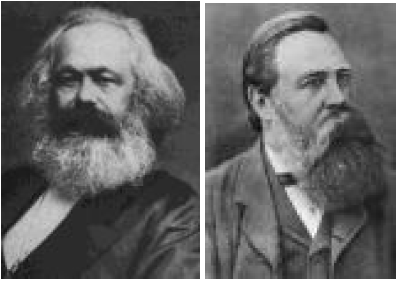 who were karl marx and friedrich engels